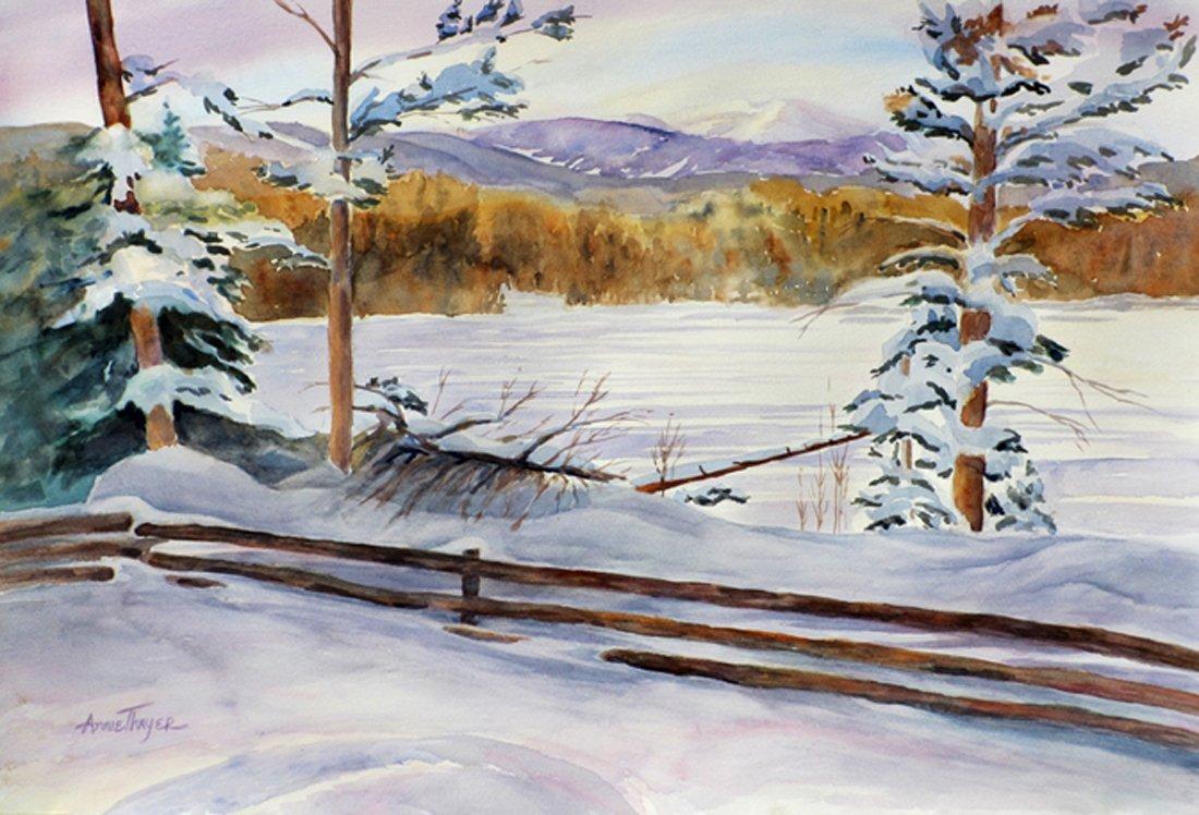 Annie Thayer Watercolor Artist