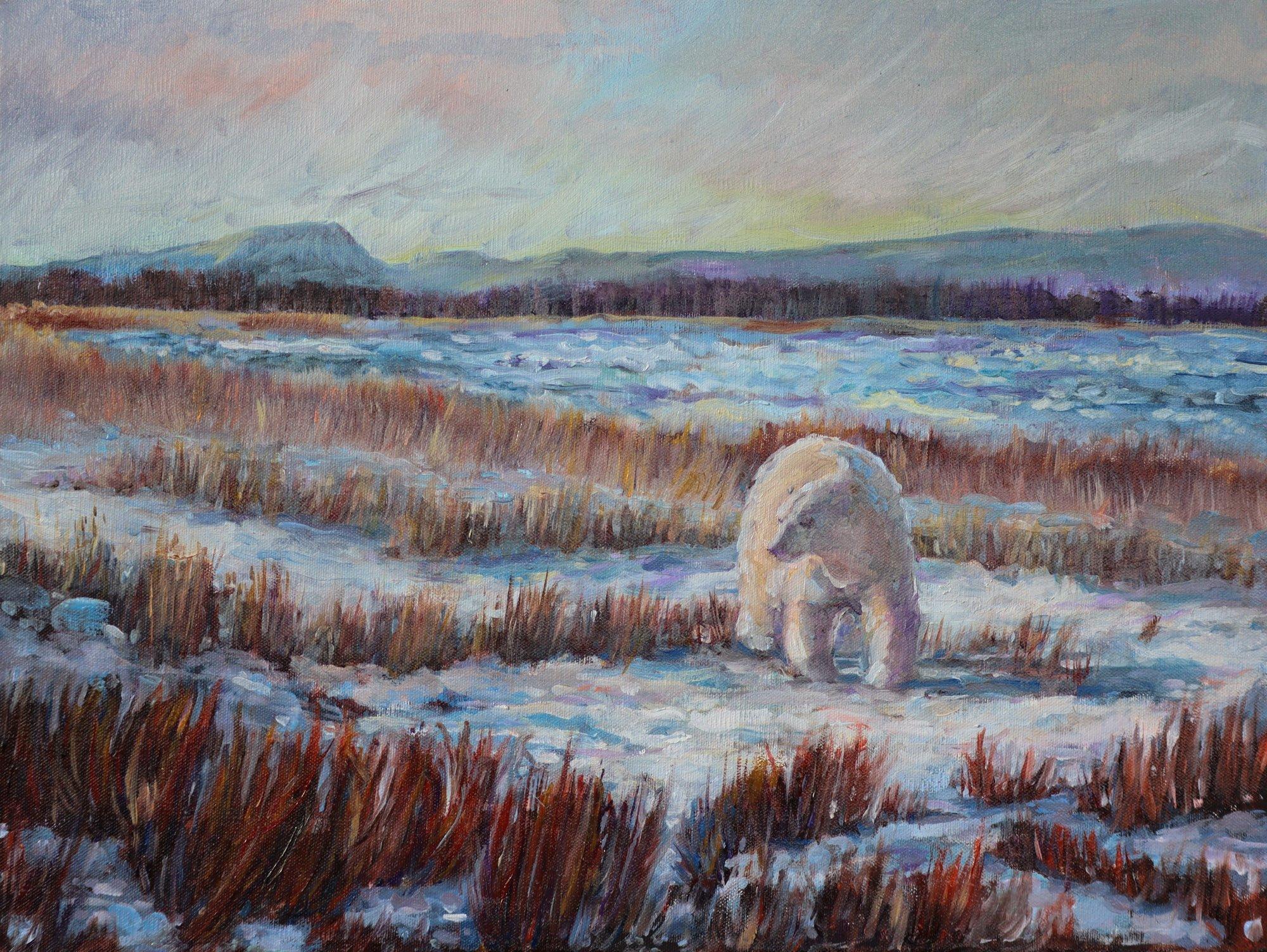 Acharya-gretchen-oil-Hudson-Bay-Bear