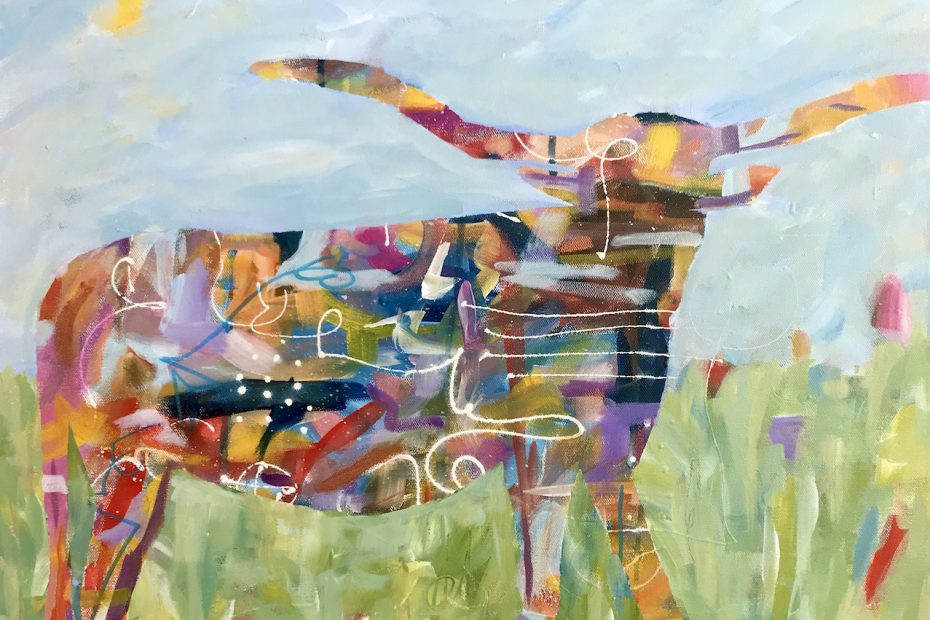Faughnan-Cathy-Acrylic-Bullish-On-2021