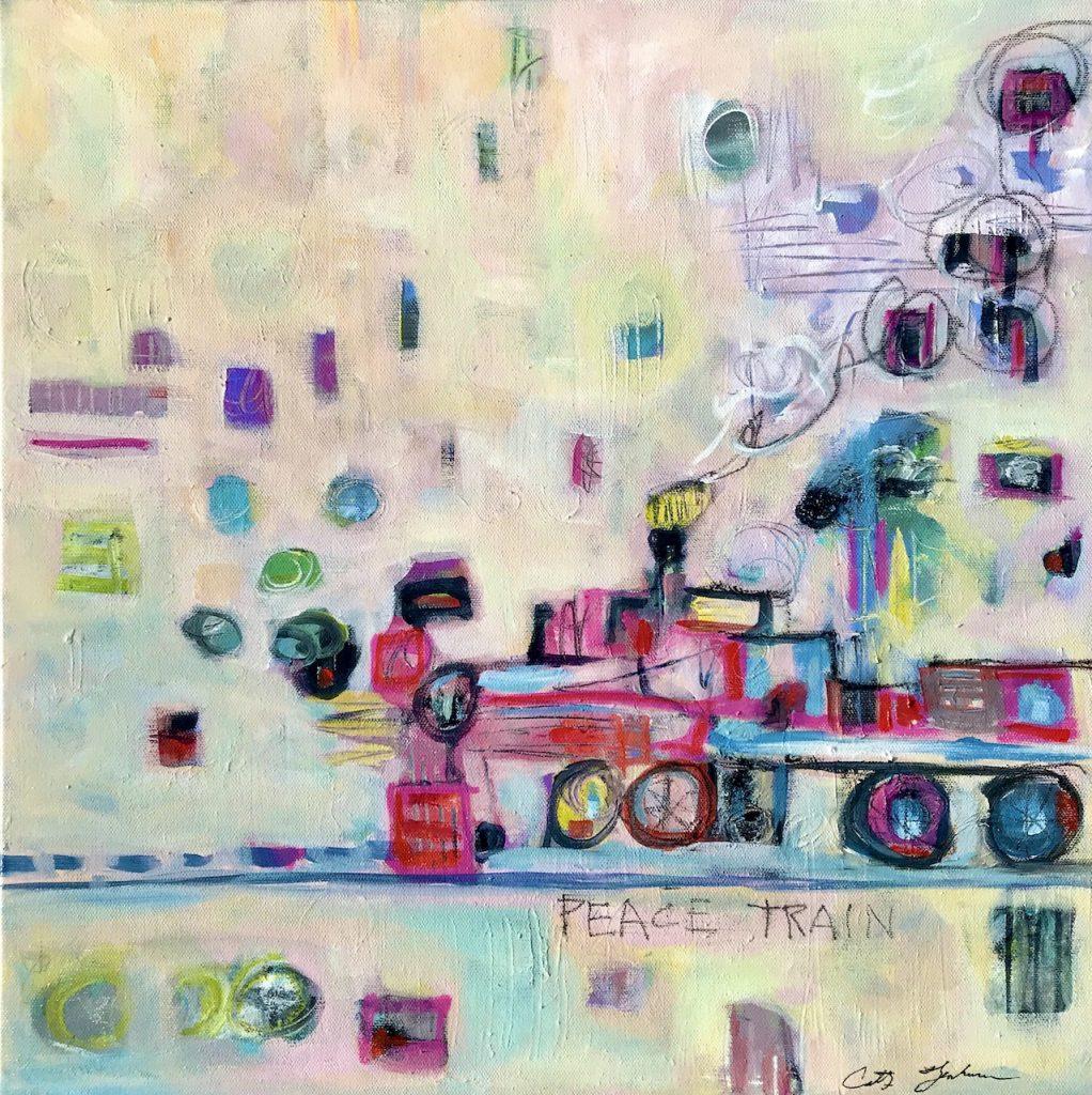 Faughnan-Cathy-Acrylic-Peace-Train